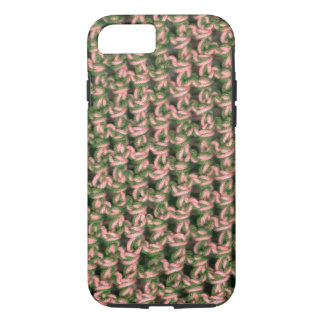 Pink Camo Crochet French Green Ladies Camouflage iPhone 7 Case