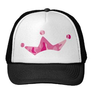 Pink Camo Crown Trucker Hat