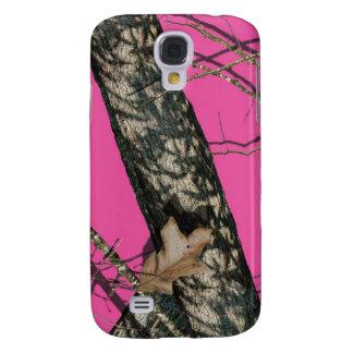 Pink Camo Galaxy Case