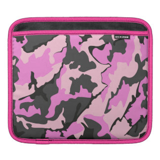 Pink Camo, Horizontal Sleeve Sleeve For iPads