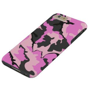 huge discount d63b9 ebaaf Pink Camo iPhone 6/6s Plus Cases & Covers | Zazzle.ca