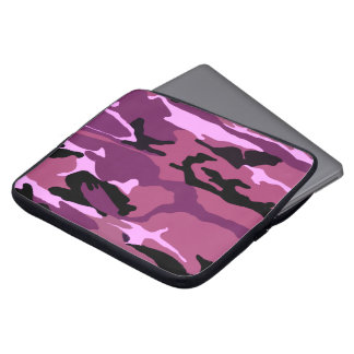 Pink Camo Laptop Sleeve