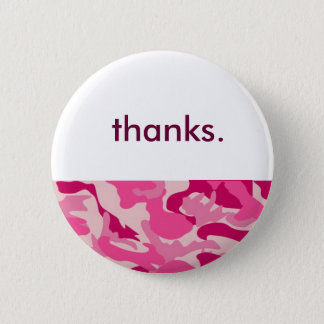 Pink-Camo-lg, thanks. 2 Inch Round Button