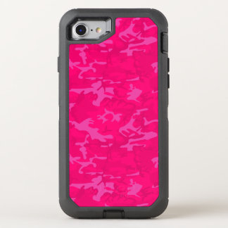 Pink Camo OtterBox Defender iPhone 7 Case