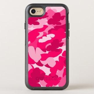 Pink camo OtterBox symmetry iPhone 8/7 case