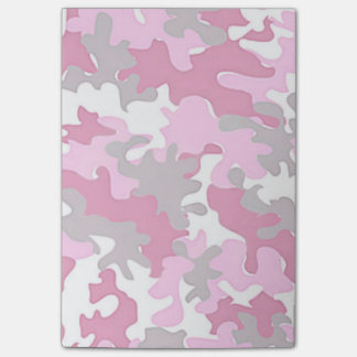 Pink Camo Post-it Notes