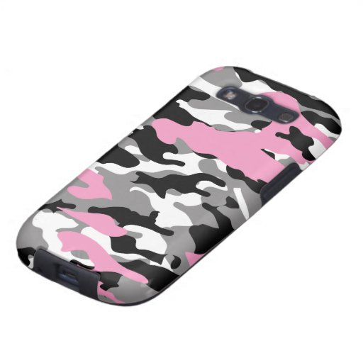 Pink Camo - Samsung Galaxy Case-Mate Case Samsung Galaxy S3 Covers