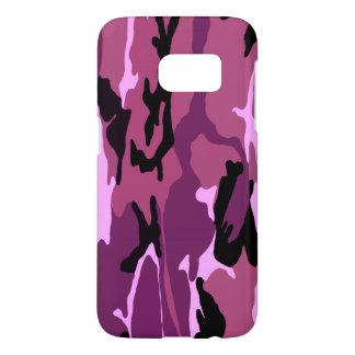 Pink Camo Samsung Galaxy S7 Case