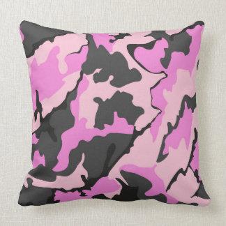 """Pink Camo, Throw Pillow 20"""" x 20"""""""