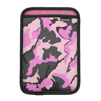 Pink Camo, Vertical Sleeve For iPad Mini