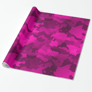 Pink Camo Wrapping Paper