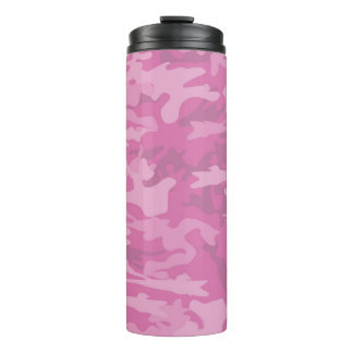 Pink Camouflage / Camo Thermal Tumbler