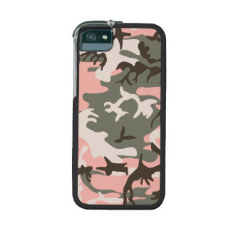 Pink Camouflage Cover For iPhone 5