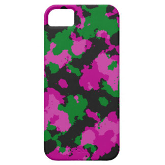 Pink Camouflage cell phone case