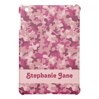 Pink Camouflage  Cover For The iPad Mini