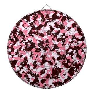 Pink Camouflage Dartboard
