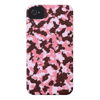 Pink Camouflage iPhone 4 Case-Mate Case
