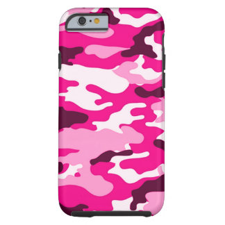 Pink camouflage iPhone 6 Tough Case