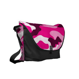 Pink camouflage | Messenger Bag