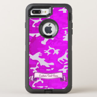 Pink Camouflage OtterBox Defender iPhone 8 Plus/7 Plus Case