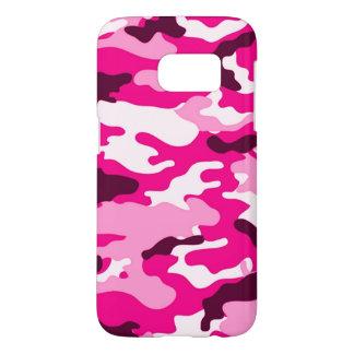 Pink camouflage Samsung Galaxy S7 Case