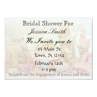Pink Candy Display Bridal Shower Invitation