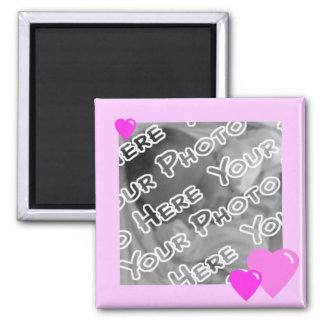 Pink Candy Hearts Magnet