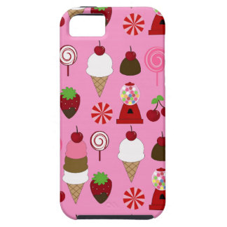 Pink Candy pattern Apple Iphone case