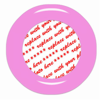 Pink Candy Ring Template Photo Frame Acrylic Cut Outs