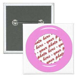 Pink Candy Ring Template Photo Frame Pin