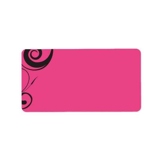 PINK CANDY sticker Print your own label