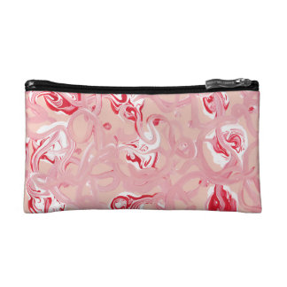 Pink Candy Style Cosmetic Bag