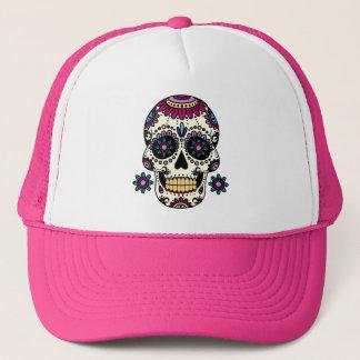 Pink cap Skull Color Flores