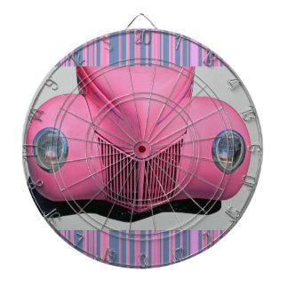 Pink Car Dartboard