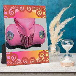Pink Car Plaque