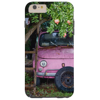 Pink Car Under Pomegranate Tree in Tuscany Tough iPhone 6 Plus Case