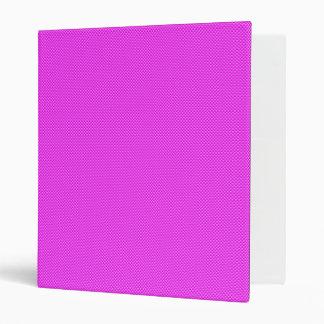 Pink Carbon Fiber Vinyl Binder
