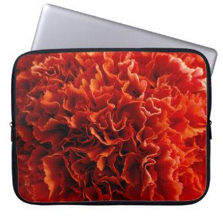 Pink Carnation Neoprene Laptop Sleeve 15 inch