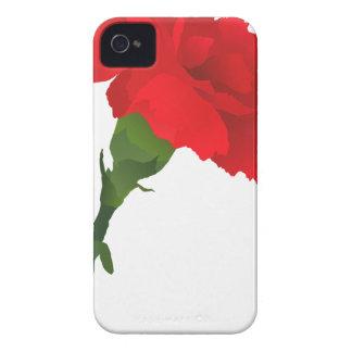 Pink Carnation Rose iPhone 4 Case-Mate Case