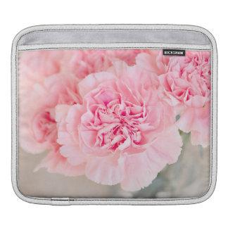 Pink Carnations iPad Sleeves