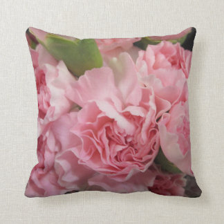 Pink Carnations Pillow
