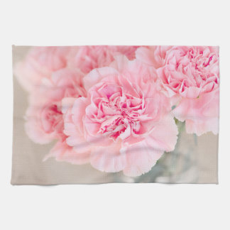 Pink Carnations Towel