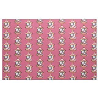 Pink Carousel Fabric