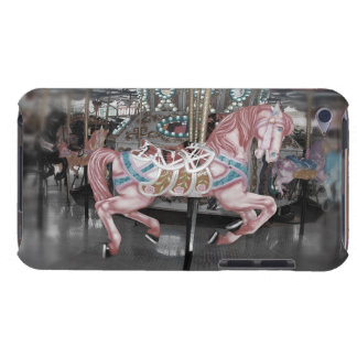Pink carousel horse barely there iPod case