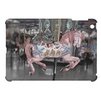 Pink carousel horse case for the iPad mini