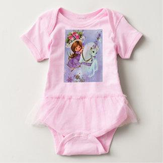 Pink Carousel Pony Girls Tshirt