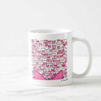 Pink Cat Ears Mug