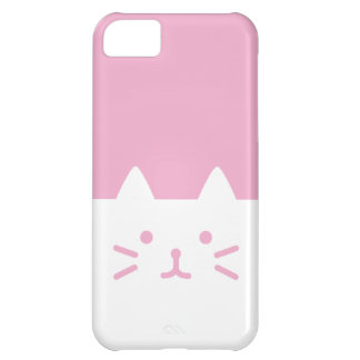 pink cat iphone case