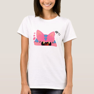Pink cat-like monster T-Shirt