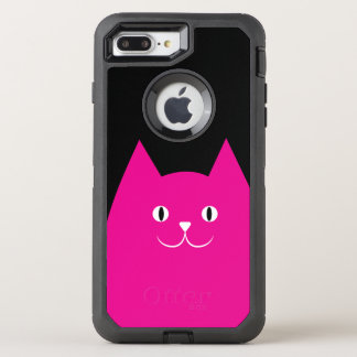 Pink Cat OtterBox Defender iPhone 8 Plus/7 Plus Case